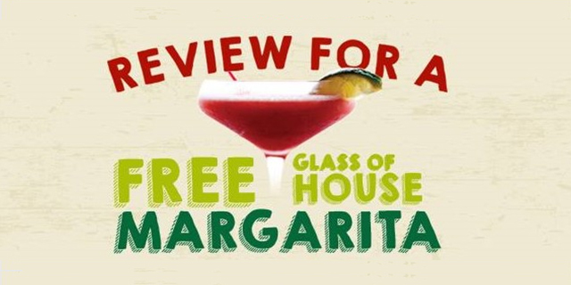 Review for a Free Margarita