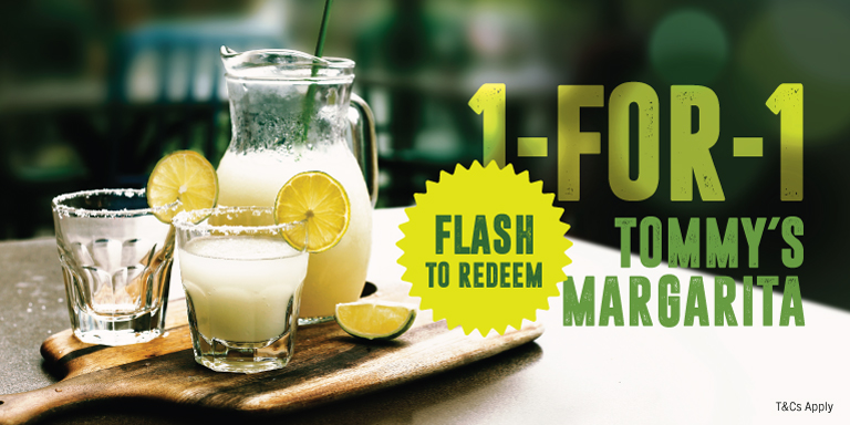 1-For-1 On All Tommy's Margaritas!