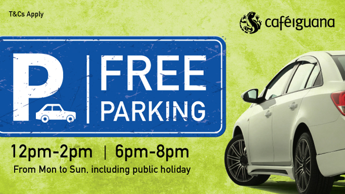 FREE Parking @ Riverside Point!