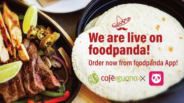 Café Iguana X Foodpanda